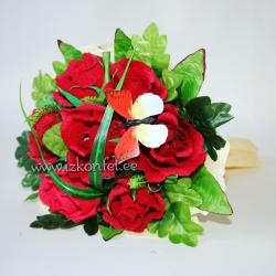 Красные розы  №275